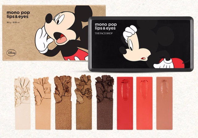 13 THE FACE SHOP X DISNEY MICKEY MOUSE MONO POP LIPS AND EYES #01 CLASSIC MICKEY.jpg