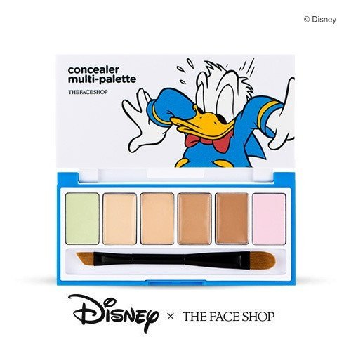 21 THE FACE SHOP X DISNEY DONALD DUCK CONCEALER MULTI-PALETTE.jpg
