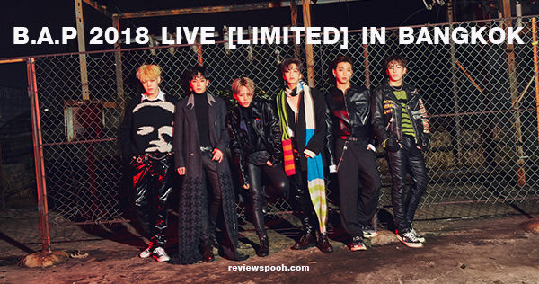 B.A.P 2018 LIVE [LIMITED] IN BANGKOK