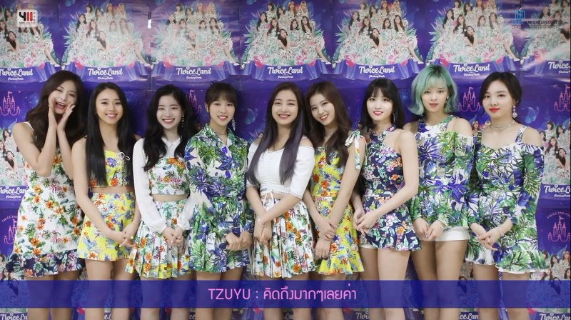 TWICE 2ND TOUR 'TWICELAND ZONE 2 : Fantasy Park' IN BANGKOK!!