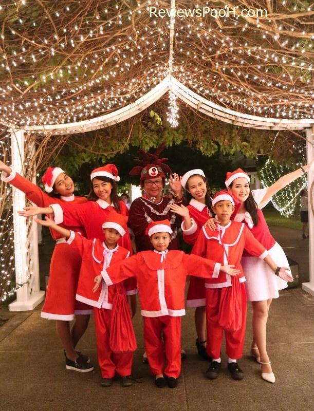 ถ่ายรูปต้นคริสต์มาส ต้อนรับปีใหม่ 2020 โรงแรมเซ็นทาราแกรนด์ หัวหิน